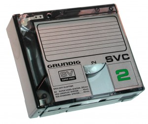 Grundig-Video-SVC-2-Kassette-1978-Weiß
