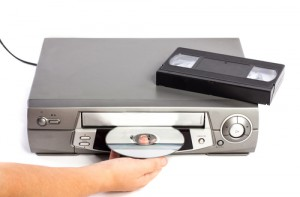 VHS-DVD-Kombi-Gerät