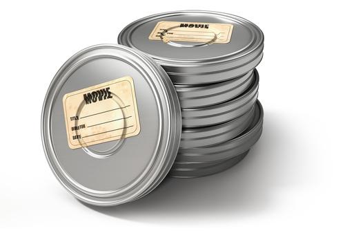 Filmdosen aus Weißblech