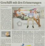 Artikel im Kölner Stadt-Anzeiger vom 9.9.2015