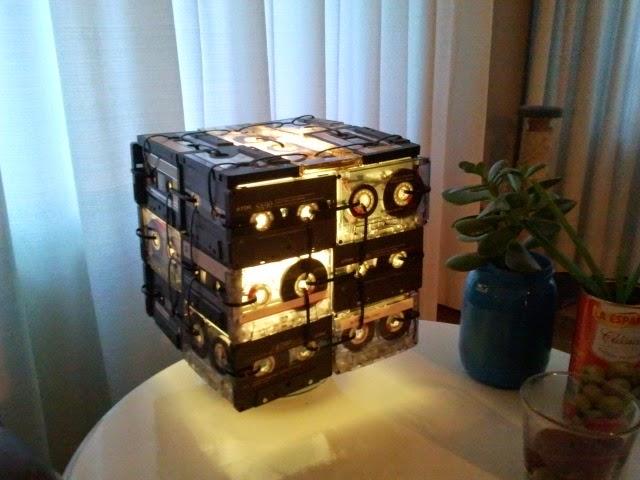 Videokassetten digitalisieren und stylischen Lampenschirm selbstbasteln!