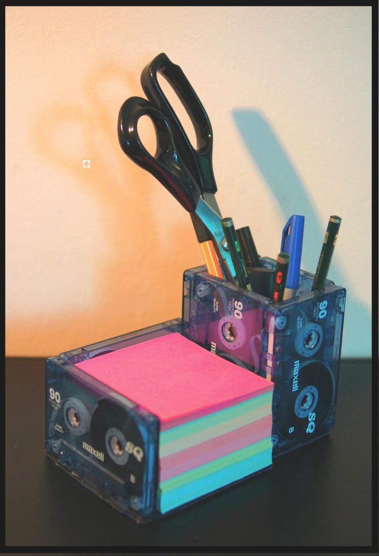 Videokassetten digitalisieren und praktischen Büro-Organizer basteln!